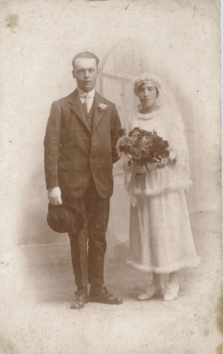 Herbert Charles Bevis & Elsie Golding