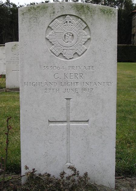 George Hunter Kerr Grave