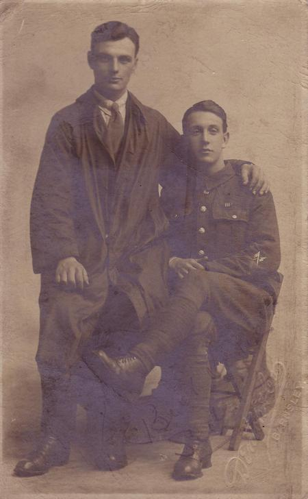 Sidney Chance and Harold Oxtaby