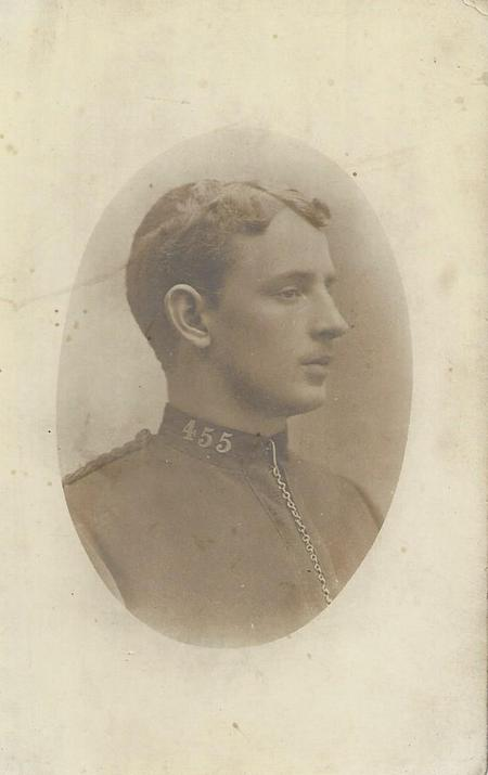 Edwin Hassall while in the Cape Police