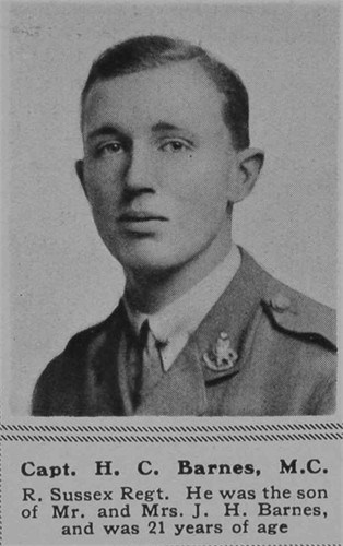 Profile picture for Hugh Cyril Barnes