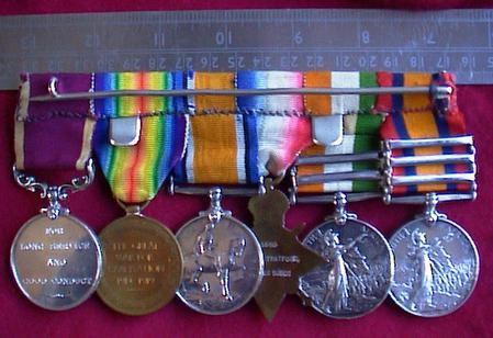 Tom Stratford Medals (reverse)