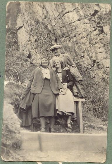 Tom, Alice and Vera in 1934