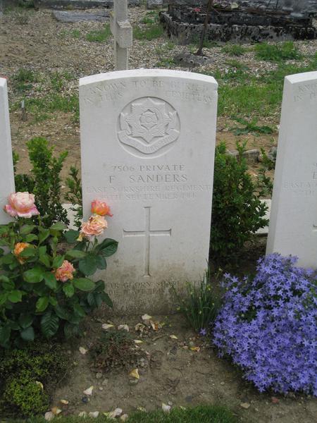 Grave of Frederick Sanders
