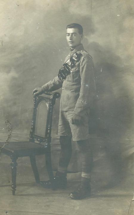 Harry Greenwood ca. 1914