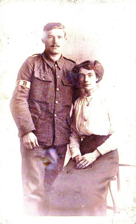 Robert and Frances Nutbrown c. 1916