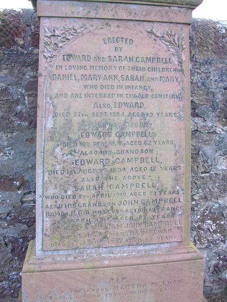 Family Headstone