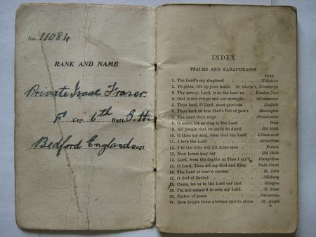 Soldier's Hymn Book