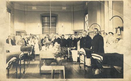 Samuel sykes in military hospital