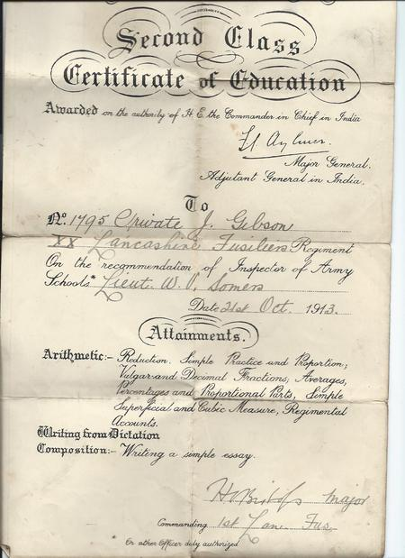 Army Certificate of Education