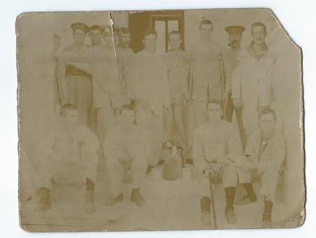 Hospital Group Of Wounded Soldiers