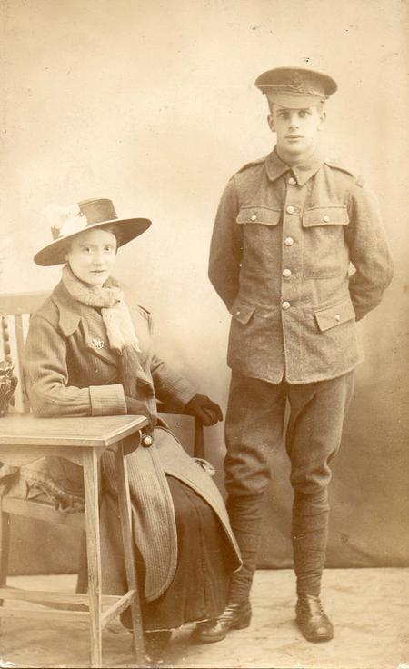 Henry Cullen Phillips & Edith Alice nee Frankling