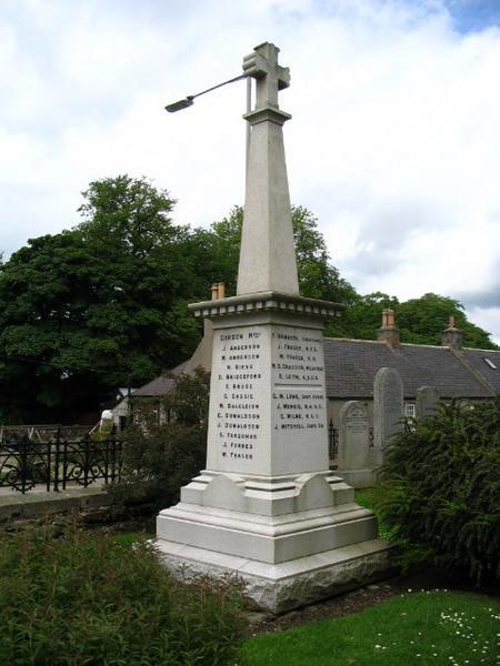 Kirkton of Skene War Memorial