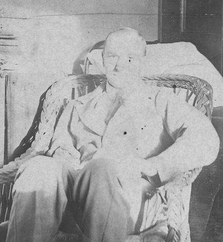 George Scott convalescing at Hatfield House.