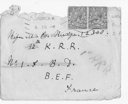 envelope dated Aug 2nd 1916