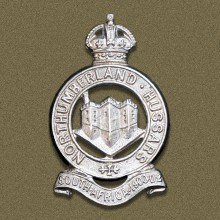 Northumberland Hussars Cap Badge