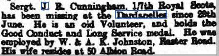 Edinburgh Evening News - 23 Oct 1915