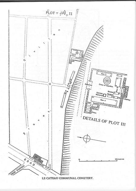 Location of His Grave