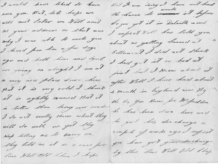 letter from friend Jim (pages 3, then 2)