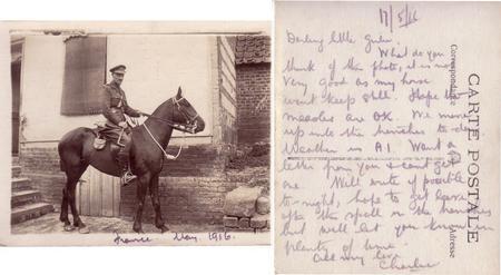 Major Charles Sydney Smith, France May 1916