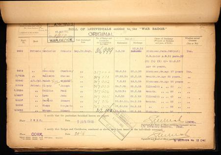 War Office Record