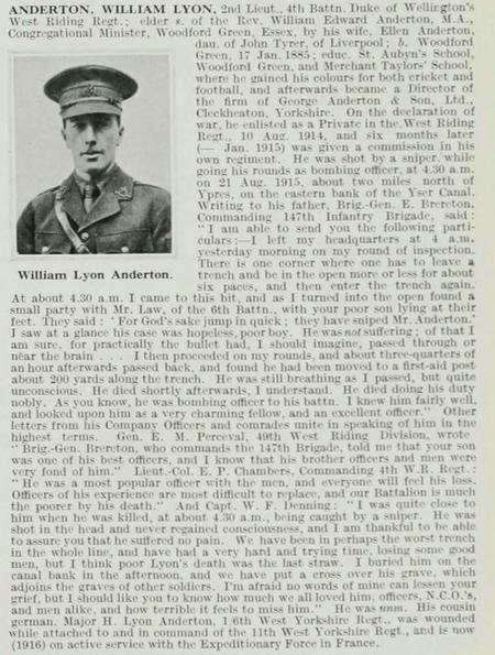 The Roll of Honour. a Biographical Record