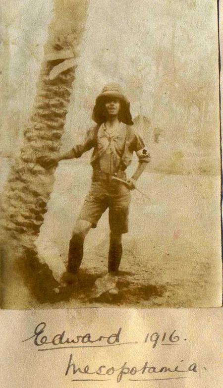 Nathaniel Edward Sanger taken in Mesopotamia