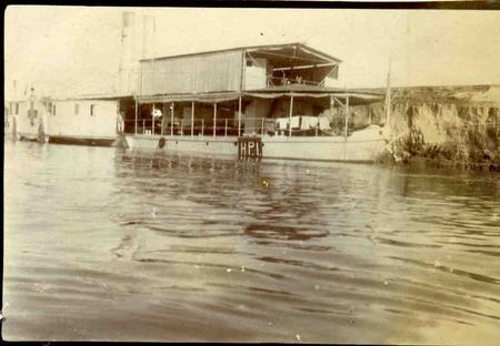 Hospital Ship at Sheikh Saad, Mesopotamia
