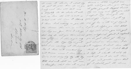 Letter from friend Bert jan 30 1916 (pp2 and 3)