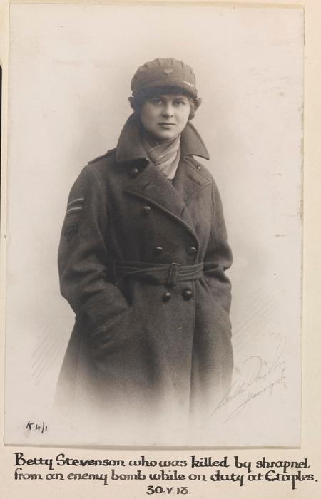 Profile picture for Bertha Gavin 'betty' Stevenson