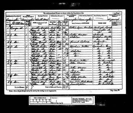 1881 census