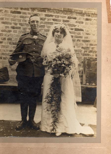 Wedding Day of Henry Dismon & Isabel Brettell
