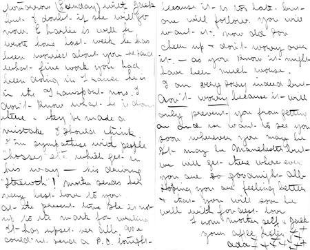 Letter from sister Ada, Sept 23rd 1916 (pp3-4)