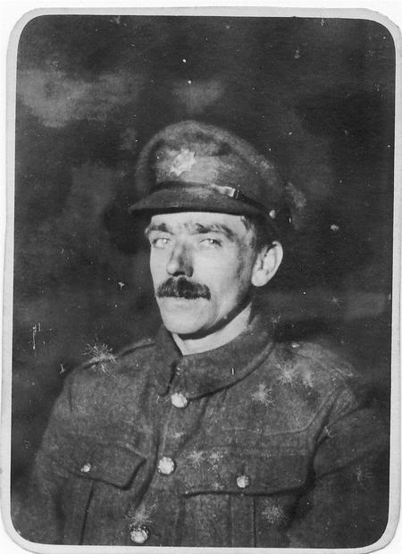Photograph of Albert's brother, Arthur Rudge