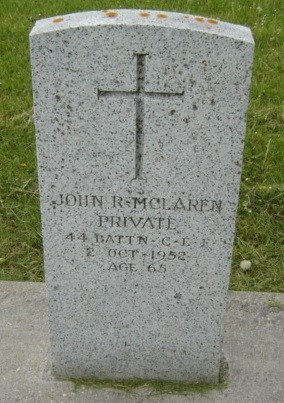 Profile picture for John Roy Mclaren