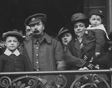 William Young at Preston Town Hall, 9 April 1916