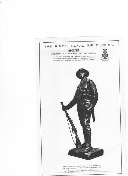 The Kings Royal Rifle corps
