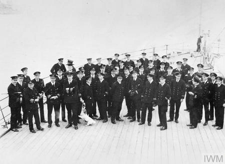 Beatty at surrender of German High Seas Fleet