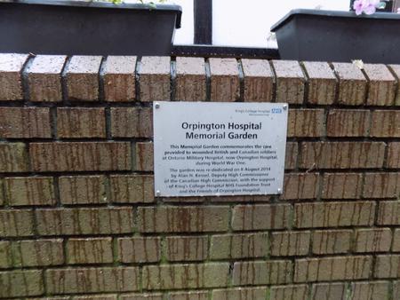 Orpington Hospital Memorial Garden