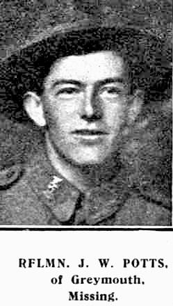 Profile picture for James William Potts