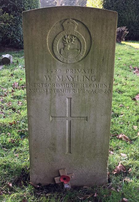 Headstone of John's brother William