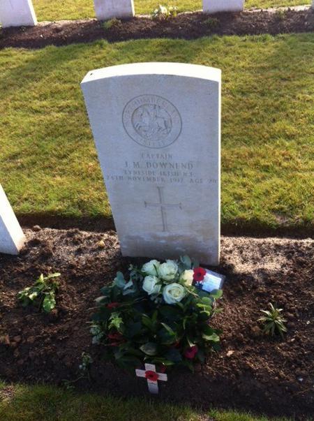 Captain Downend's grave