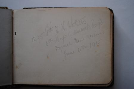 Page of Kathleen Preece's Autograph Book