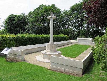 Memorial in Kensal Green