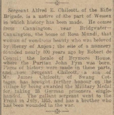 Profile picture for Alfred Edward Chilcott