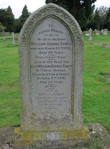 Profile picture for William George Edney