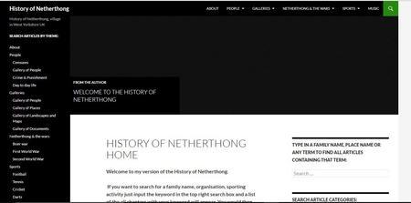 History of Netherthong