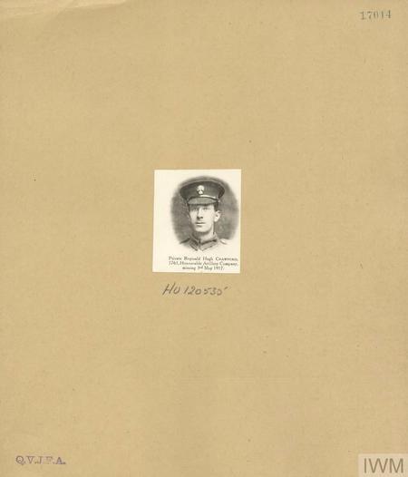 Private Reginald Hugh Crawford 5761