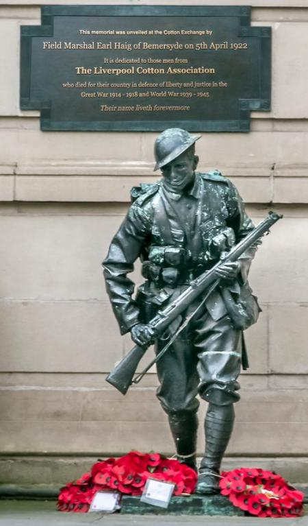 Liverpool Cotton Exchange Memorial