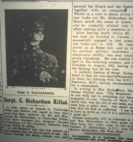 Obituary T-Wells Advertiser